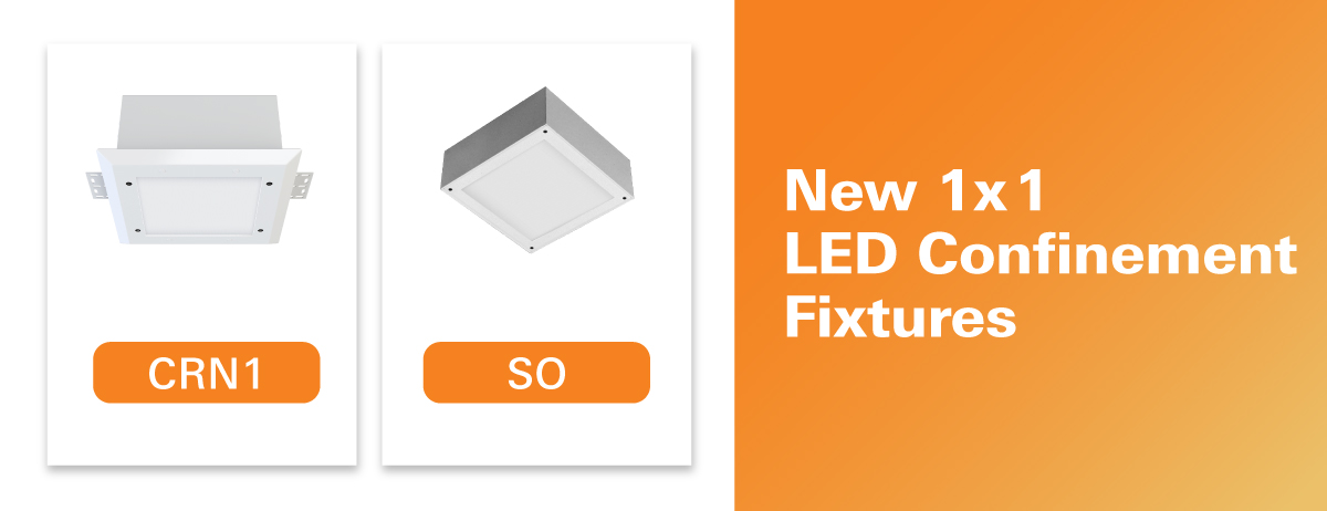 1x1 LED Confinement Lighting