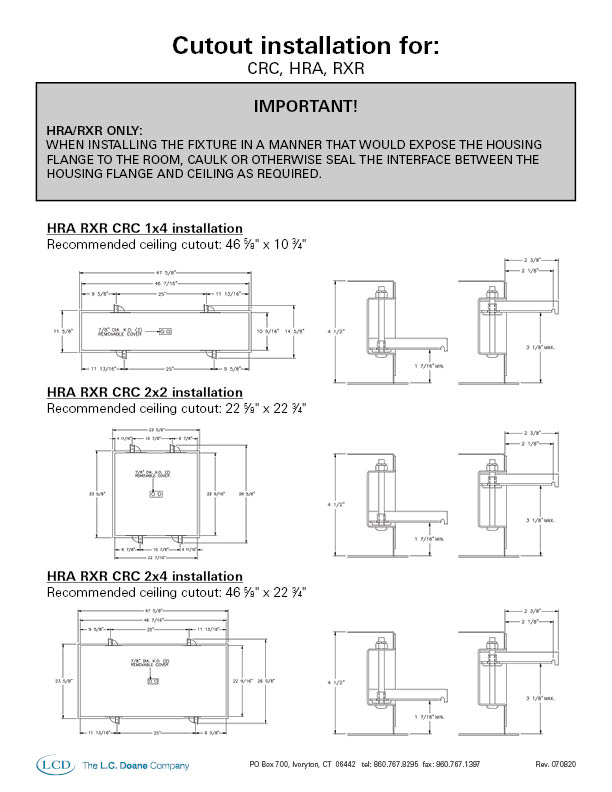 Recessed Lighting Cutout Instructions
